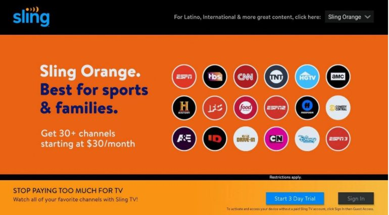 air tv launch sling tv