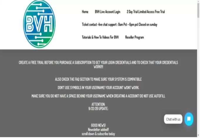 blerd vision iptv website