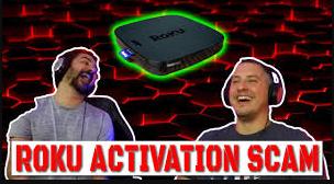 roku activation scam