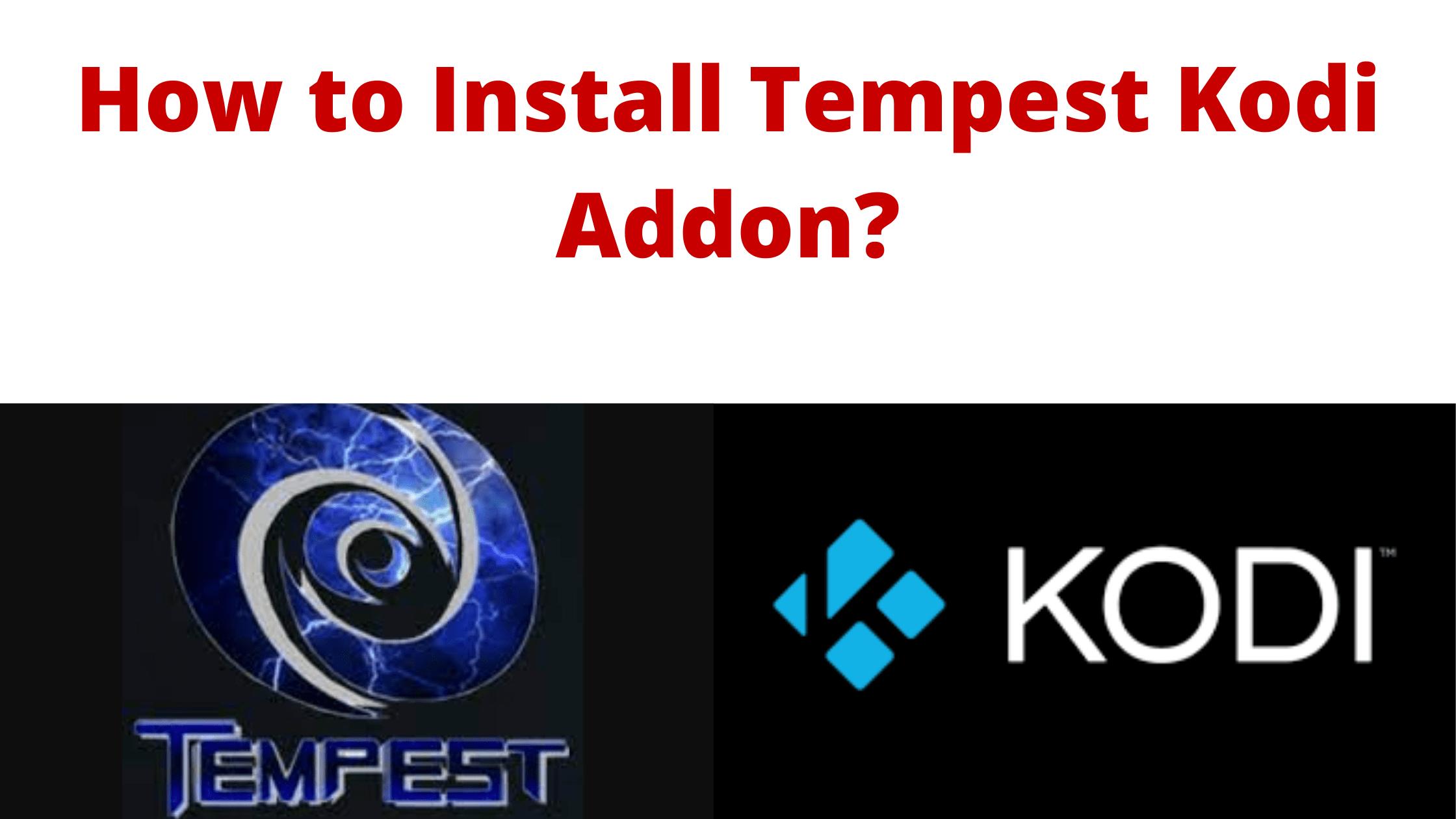 tempest addon
