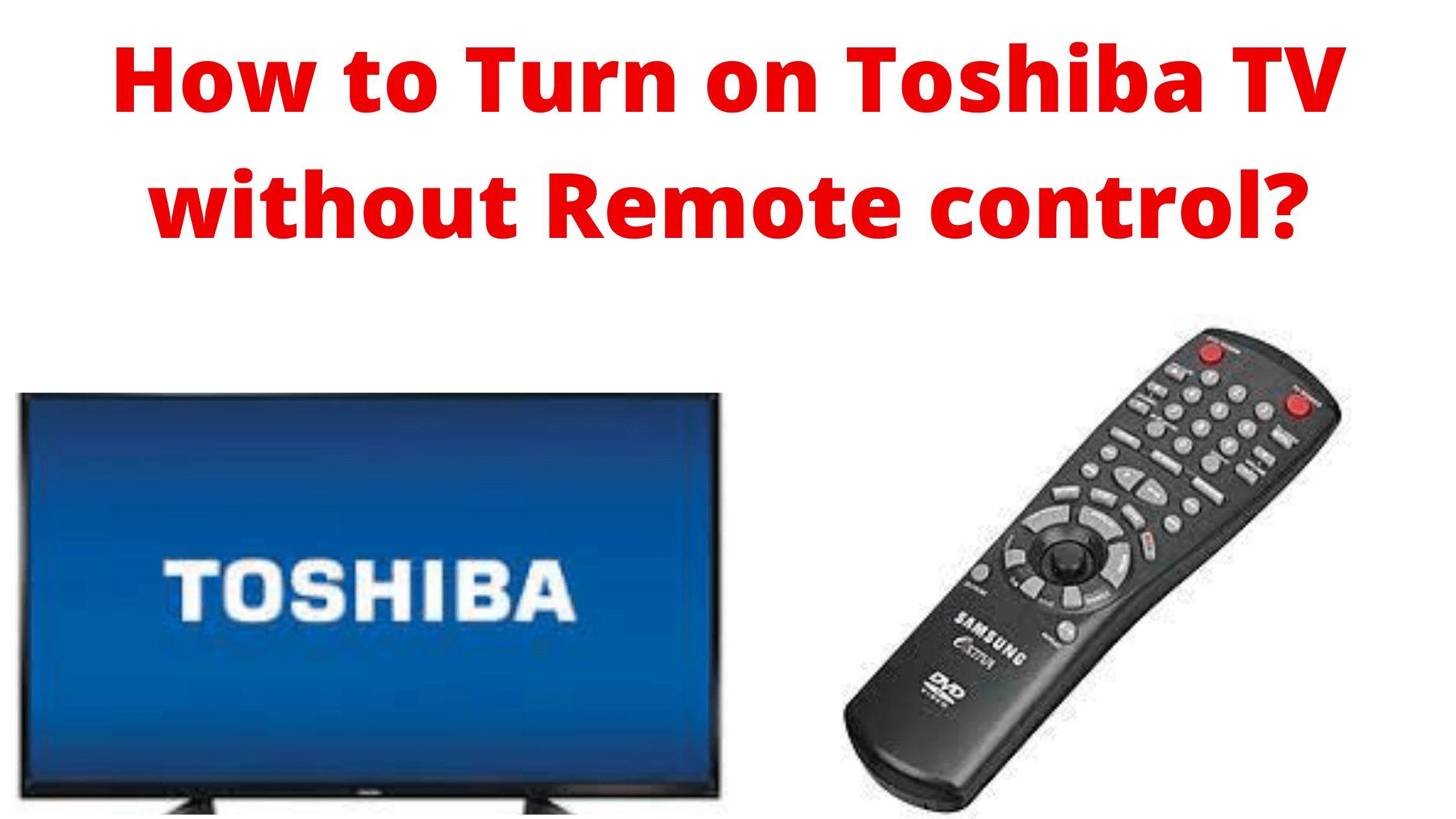toshiba tv power button