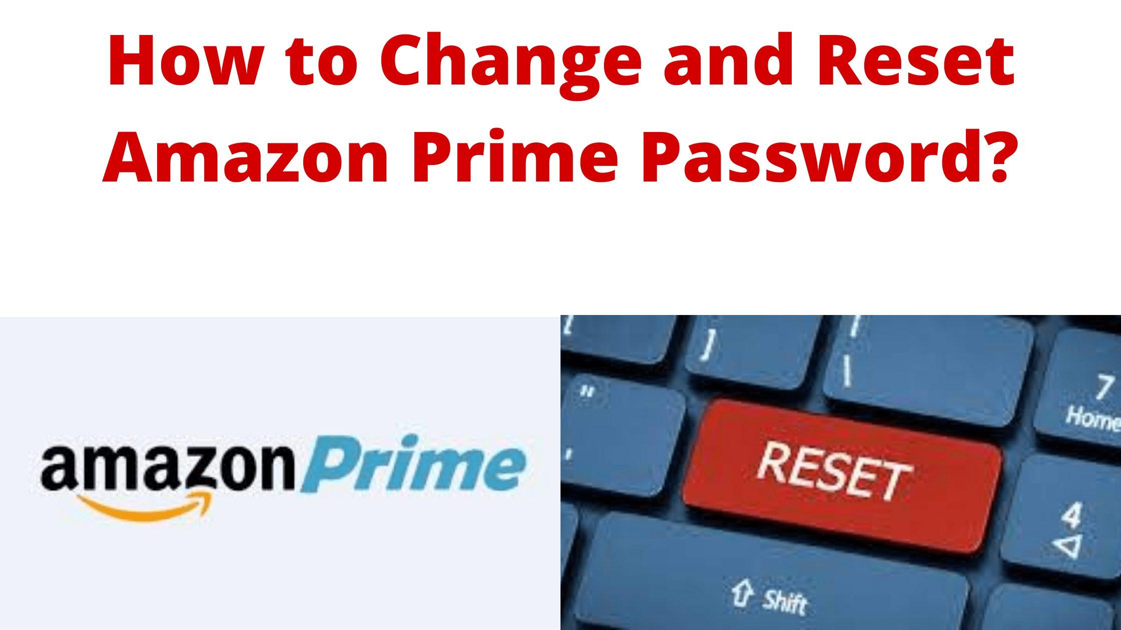 Amazon Prime Password