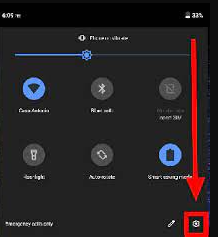 android setting choice