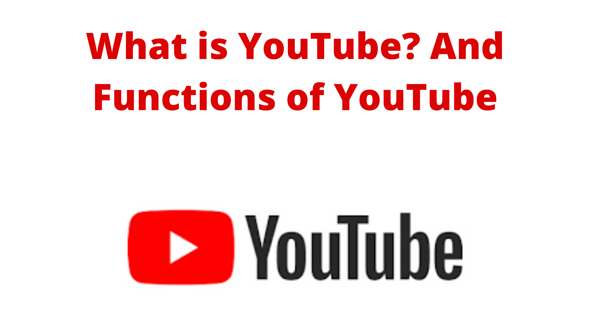 What is YouTube