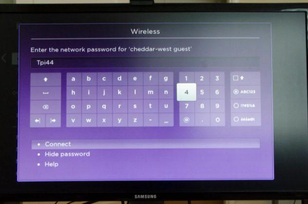 roku wifi password